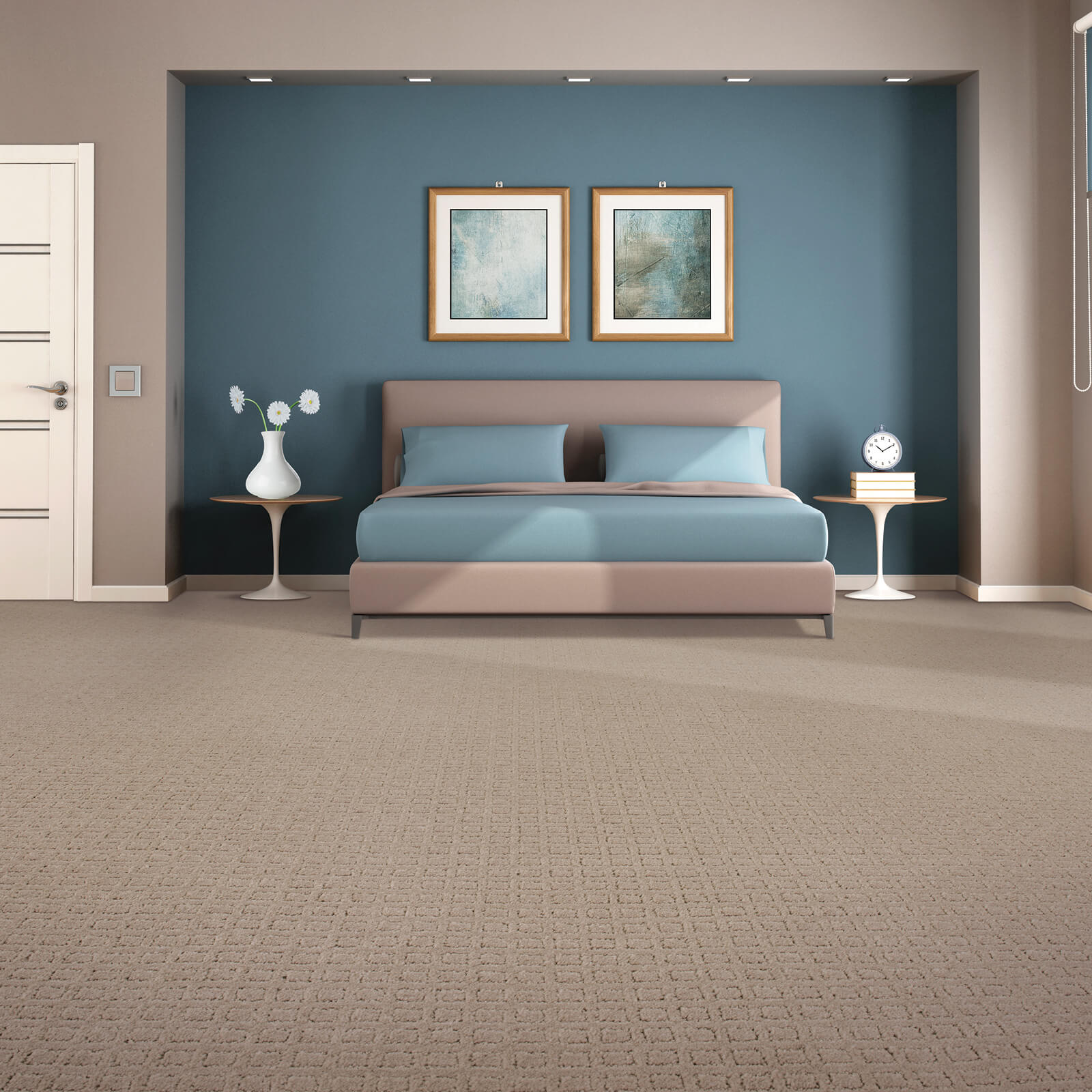 Traditional Beauty of bedroom | Georgia Flooring