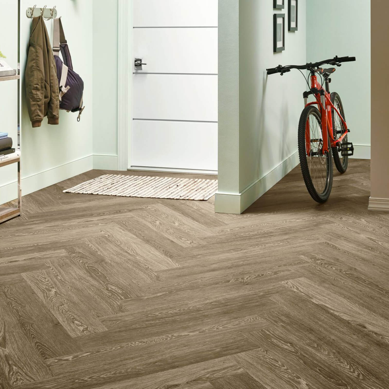 Bicycle on flooring | Georgia Flooring
