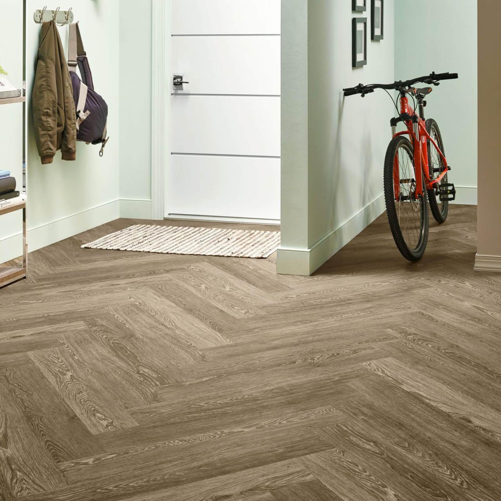 Bicycle on flooring | Georgia Flooring