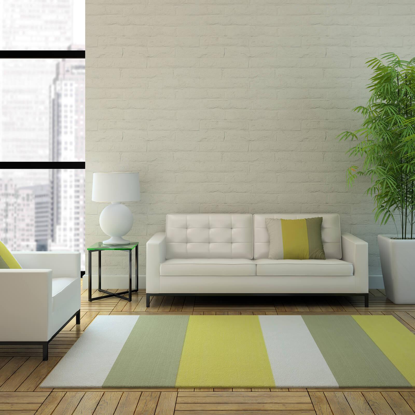 Stripped area rug | Georgia Flooring